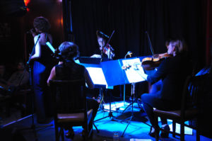 Sophie Dunér & The Callino Quartet CD launch of The City of My Soul at Charlie Wright´s International in London