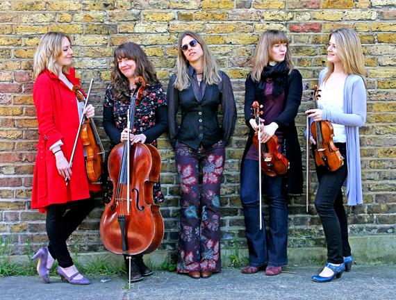 Sophie Dunér & The Callino Quartet