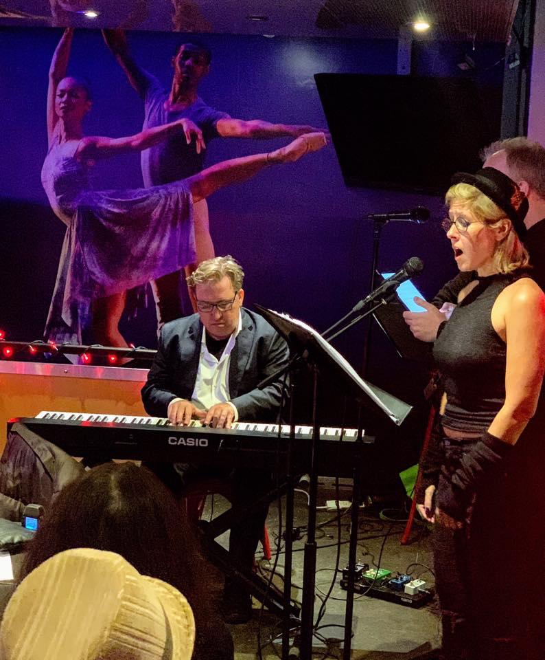 Concert at Bar Thalia, Symphony Space with Gene Pritsker & Mark Kostabi